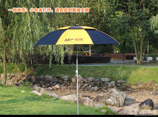 【第三期】值得买,伏魔遮阳防紫外线超轻防雨万向钓鱼伞