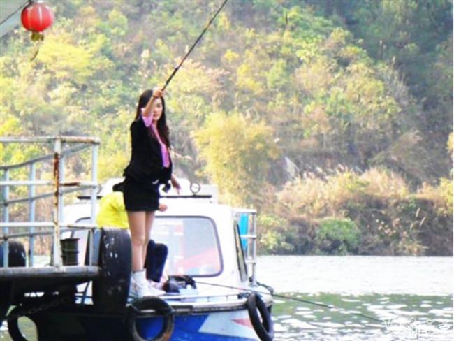 说钓鱼咱就走