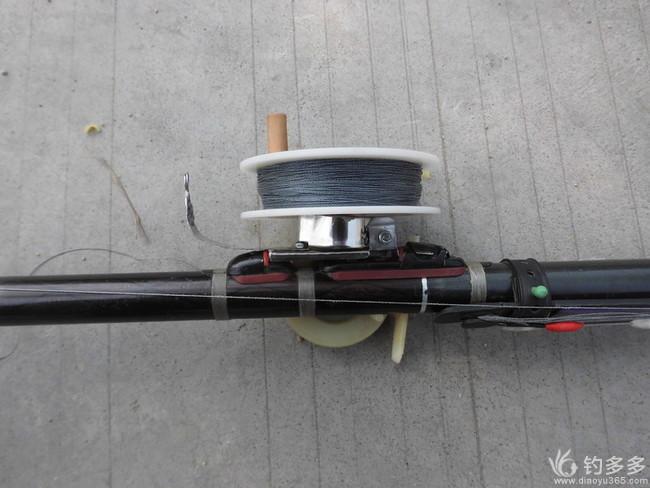 【原创】废物利用,制作一种有卸力和刹车装置的小渔轮