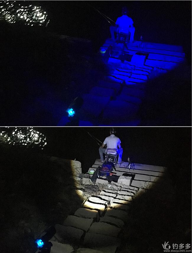 【金币秒杀】超强续航双光源夜钓灯快来抢!(含礼包)