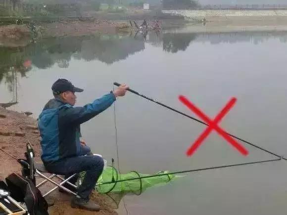 钓鱼人,学会压线就这么简单!