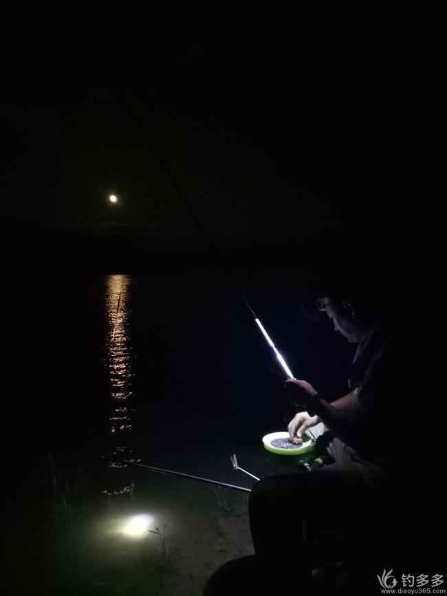 (原创首发)游钓长安--夜探白鹿原鹿缘水库