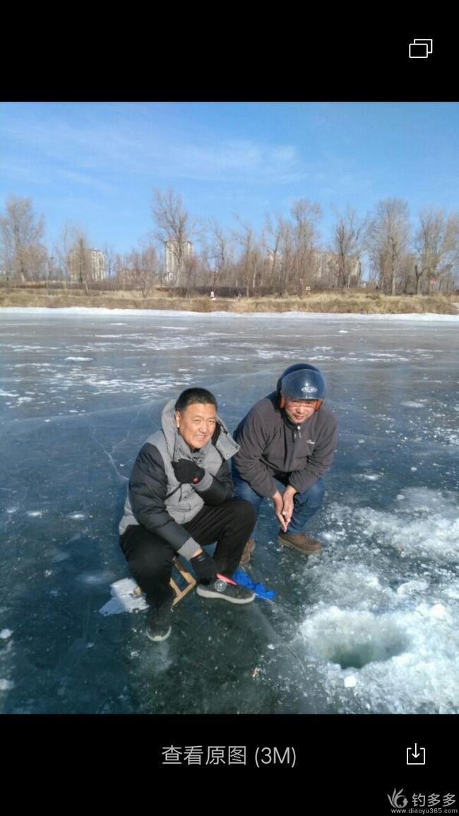 冰钓迎新年