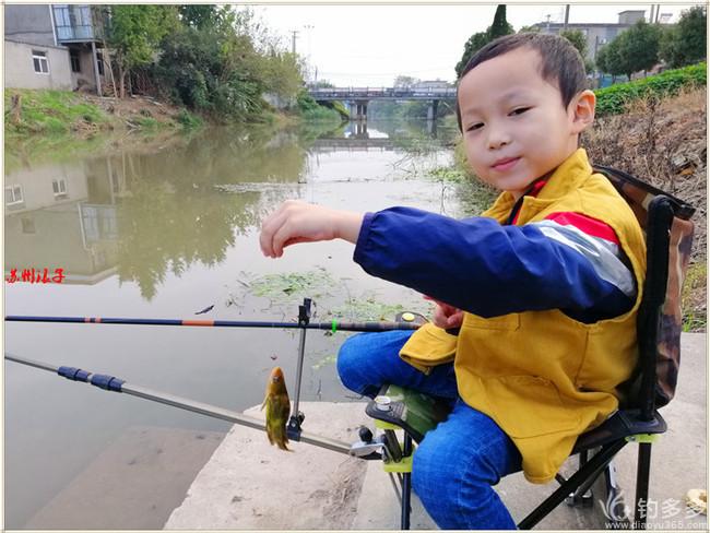 即兴首钓  完美渔获